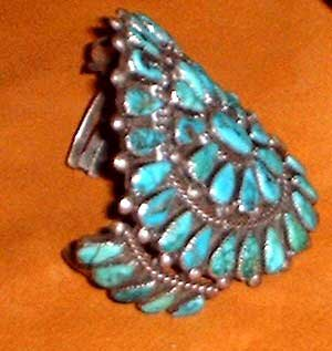 native american turquoise and silver jewelry